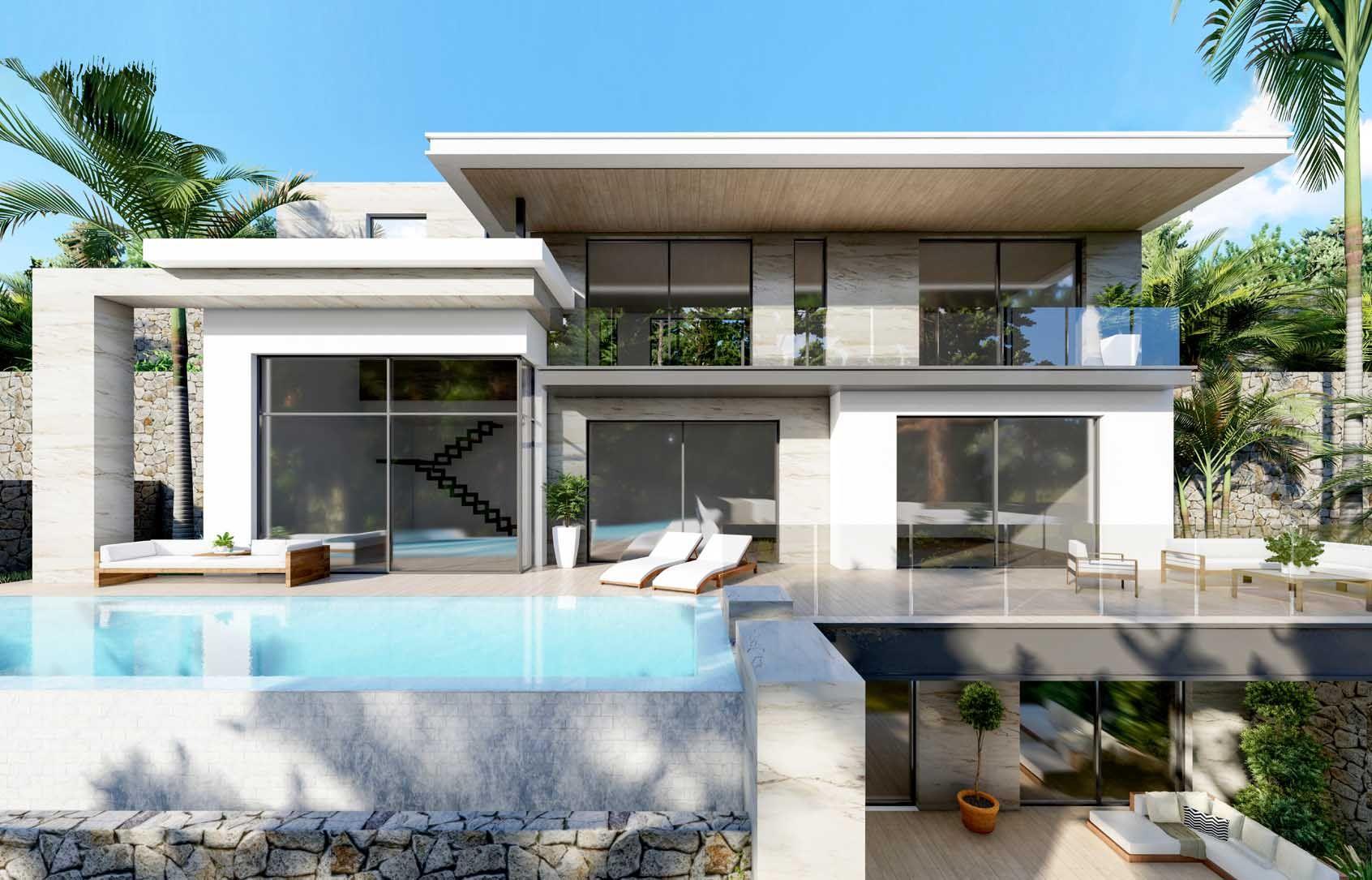 Villa in Moraira - Nieuwbouw - Van Dam Estates