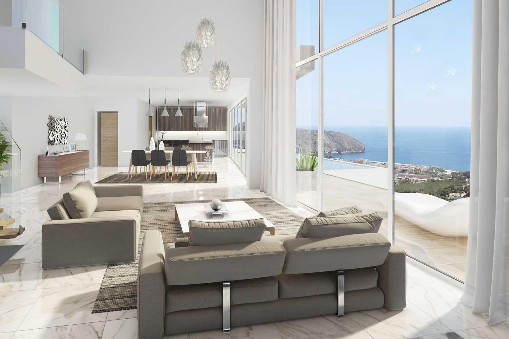 Villa in Moraira - Nieuwbouw ?> - Van Dam Estates