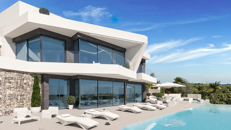 Freistehende Villa im Gorgos (Benisa) - Wiederverkauf - Van Dam Estates